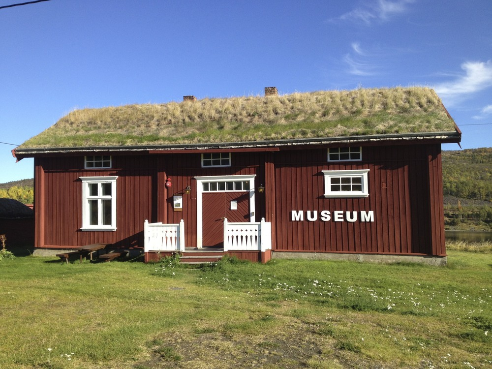Tana museum in Polmak, Norway