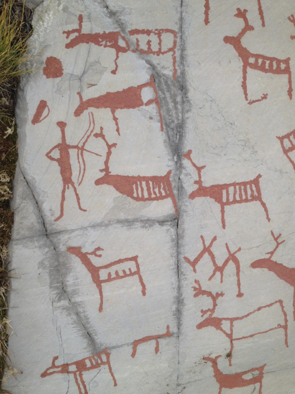 rock carvings Alta, Norway