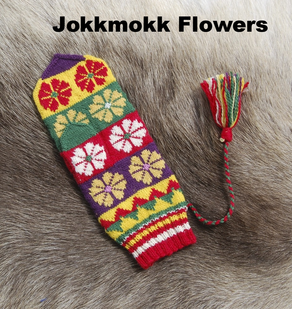 Jokkmokk Flowers: Swedish Sámi Knitted Mittens