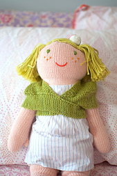 Comfort of a Friend Doll Shawl
