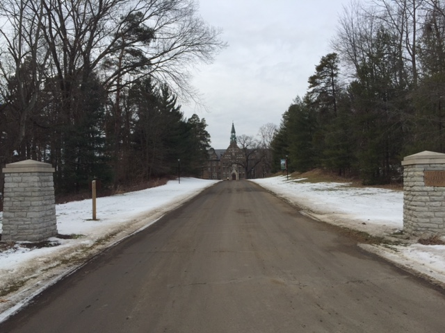 The main drive of Ancilla College