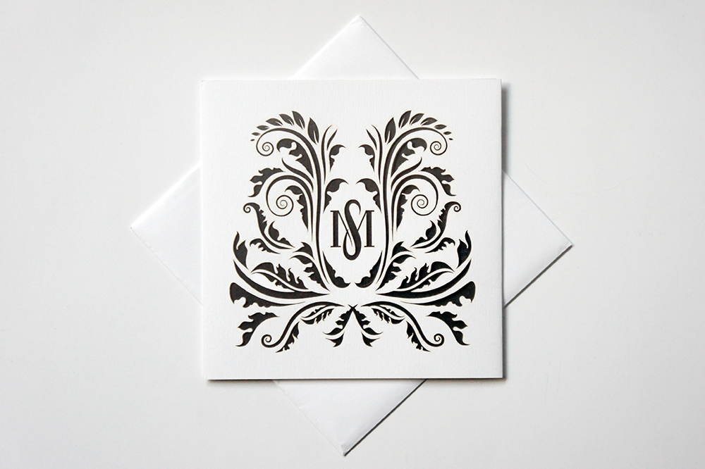 Wedding Invitation Laser Cut