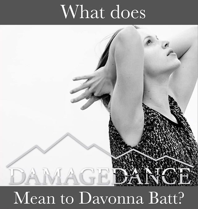 """What does DD mean to Davonna Batt @d_moves ? """"DAMAGEDANCE means exposing the rawness in our humanity, and using dance to communicate parts of ourselves that may just need to come up for air"""" . . . #whatddmeanstome #DAMAGEDANCEmeaning #damagedance #danceinspired #danceeducation #dance #contemporaryart #contemporary #contemporarydance #modern #moderndance #dancecompany #coloradodance #denverdance #dancelife #dancer #dancefloor #dancephotography #dancemusic #dancephotographer #dancefamily"""