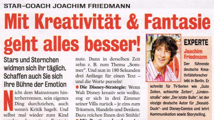 Neue Woche (Burda Verlag) im Mai 2014