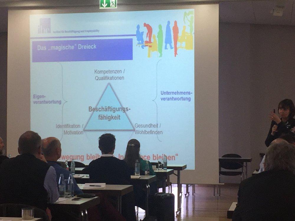 Vortrag der Themenbotschafterin Prof.Dr. Jutta Rump