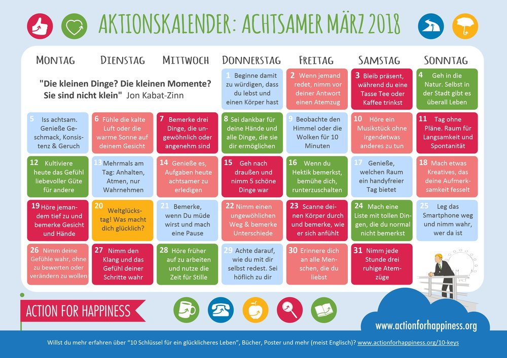 http://www.actionforhappiness.org/mindful-march?mc_cid=5056e1de6d&mc_eid=e86534e19f