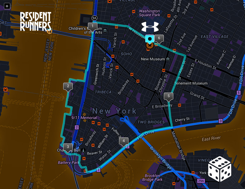 Click here to view this route on MapMyRun.