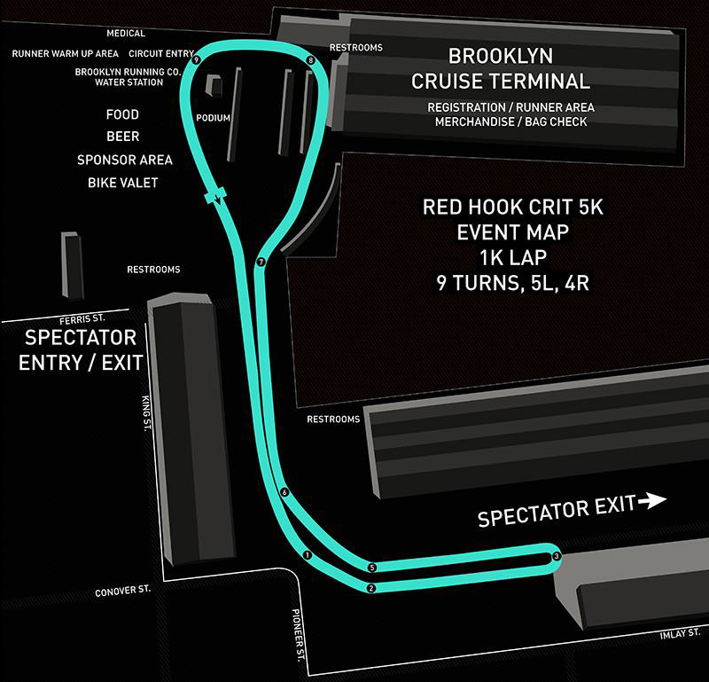 Visit  redhookcrit5k.com  for full race details and this year's finishing results.
