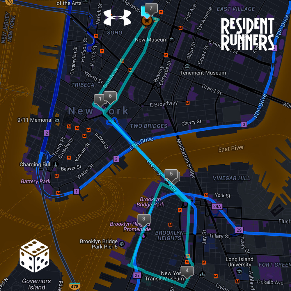 Click here to view the 7 mile route on MapMyRun.