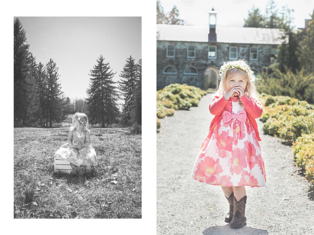 Bristol Lynn | Child Photography Blandy Farms, State Arboretum of Virginia