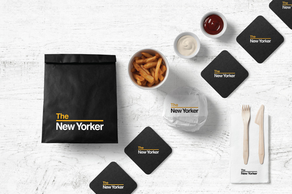 Identity, Packaging & Uniform Design the new yorker INDEPENDENT RETAILER view project