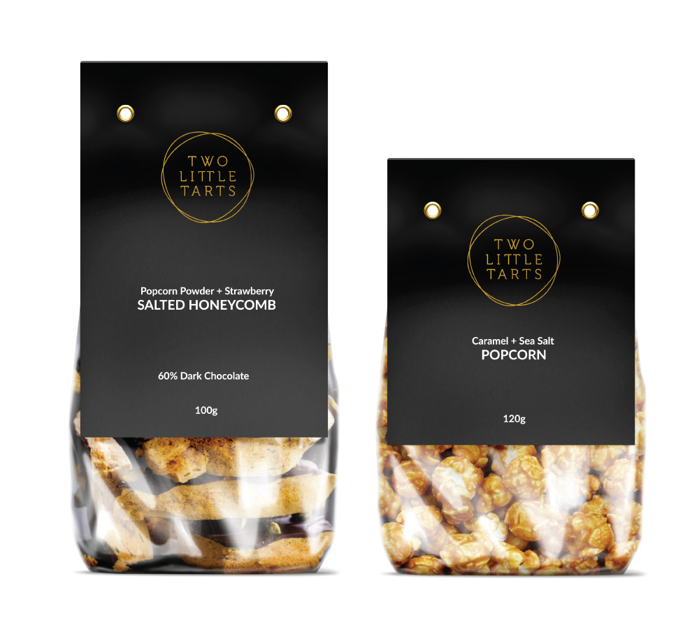 Identity & Packaging Design TWO LITTLE TARTS INDEPENDENT RETAILER View project