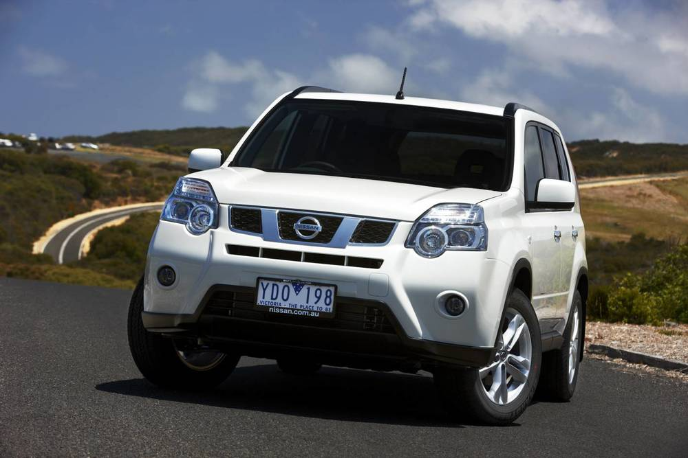 Nissan X_Trail: new model just around the corner. This one is old, outdated ... but has great off-road ability and an unbeatable loadspace