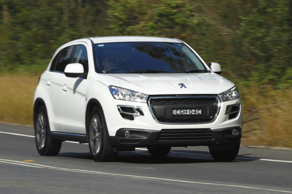 Peugeot 4008 - a misfit that can't compete with the CX-5 or Sportage on tangible criteria that matters to ordinary buyers. Euro badge: not nearly enough