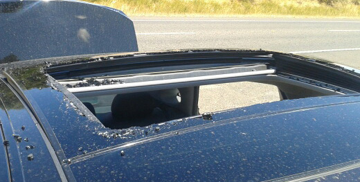Another Hyundai Sunroof Shatters Spontaneously Auto