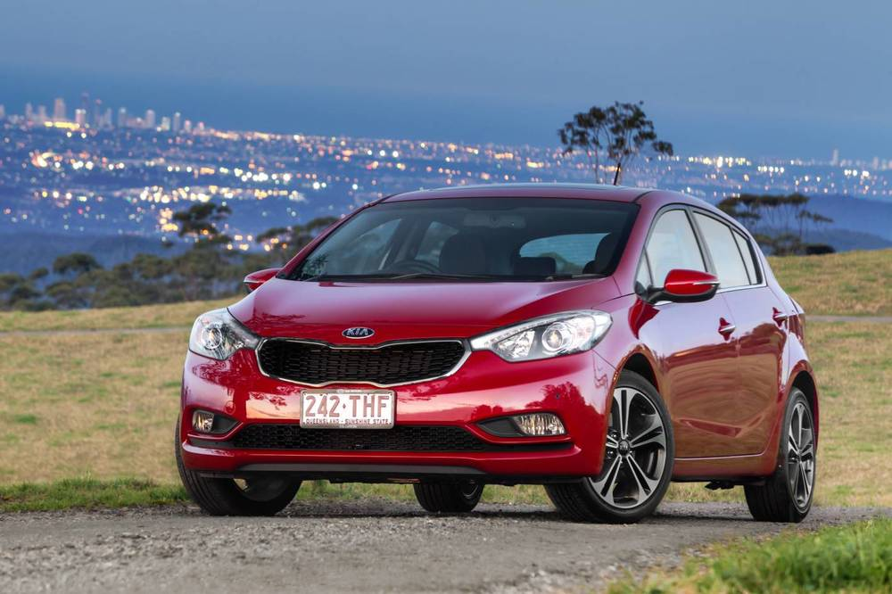 Kia Cerato shares Hyundai i30 fundamentals and looks great too - especially from the front