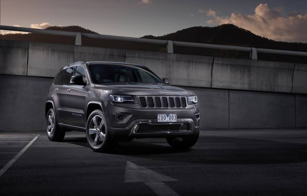 Grand Cherokee is simply the sexiest car in this short-list