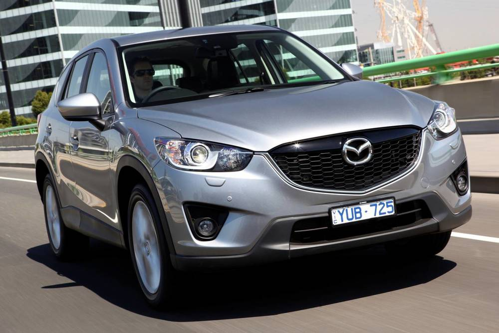 CX-5 is smaller than the other two - but is great to drive and very fuel efficient
