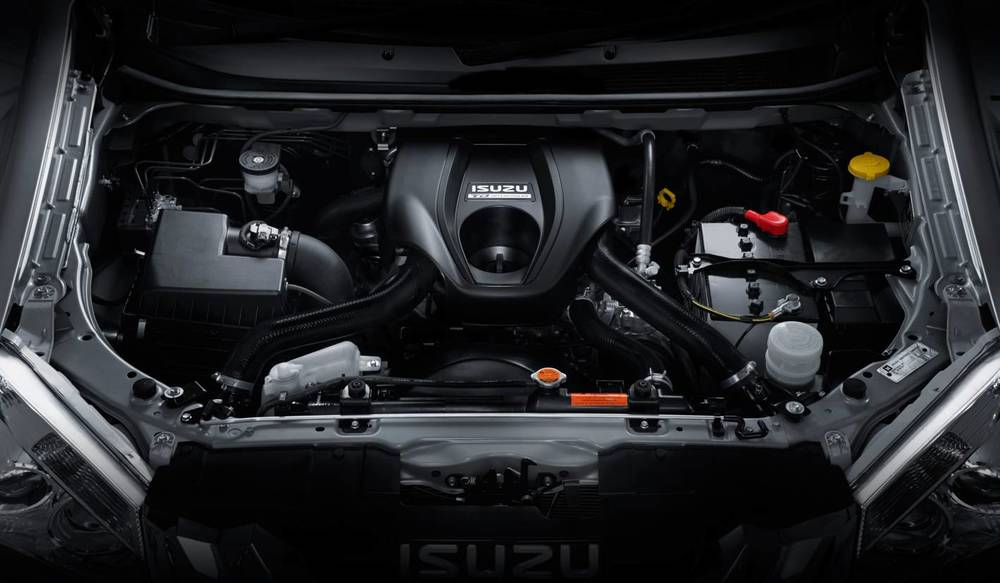 Compared with the Holden, the Isuzu engine doesn't deliver nearly enough