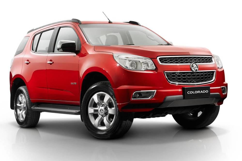 2014 Holden Colorado 7 front.jpg