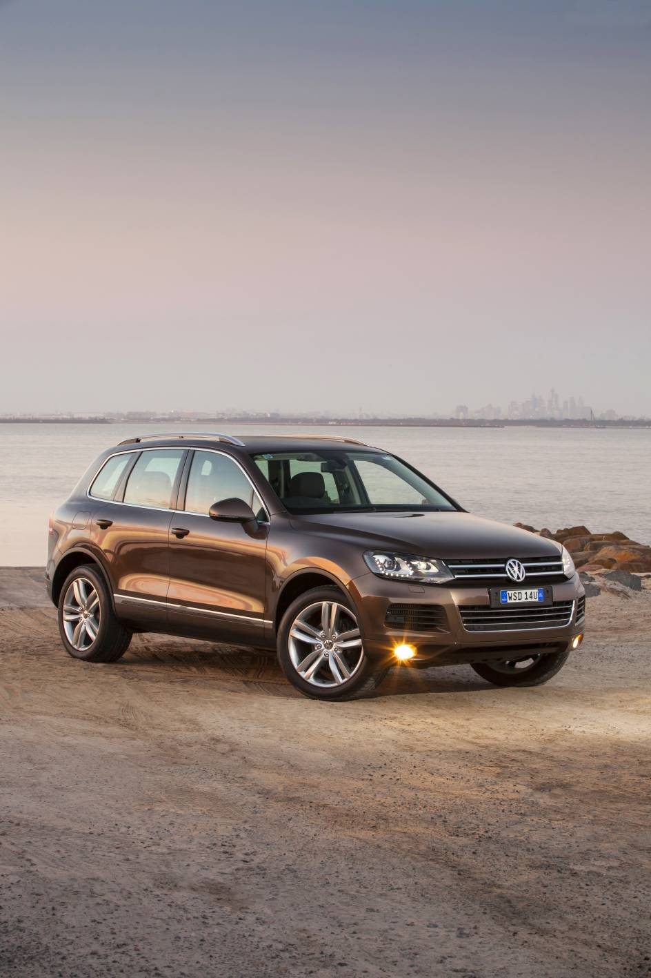 Impossible to justify the Volkswagen Touareg (above) - especially in light of VW's entrenched quality issues