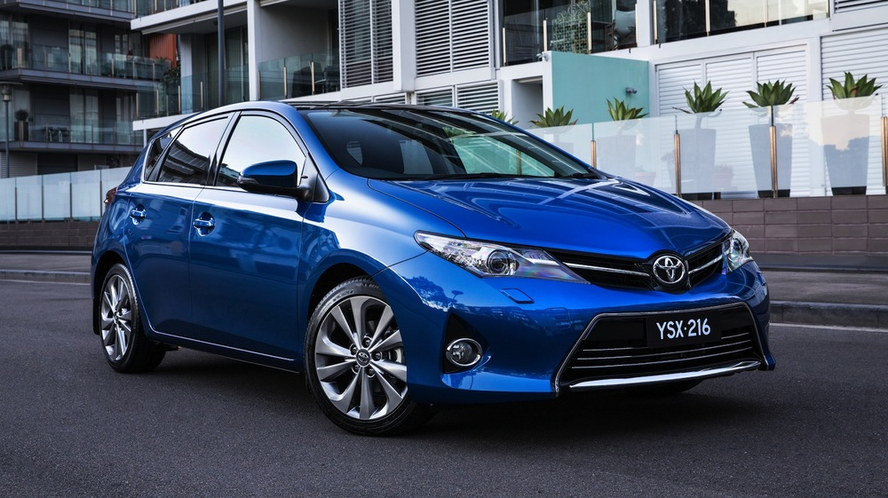 Toyota Corolla - one minor recall in six years