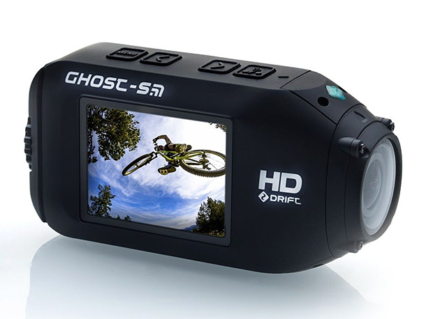 Drift Ghost-S has a few advantages over GoPro, out of the box: mainly awesome battery life, built-in LCD screen, waterproof without a housing and fitted with a rotatable lens