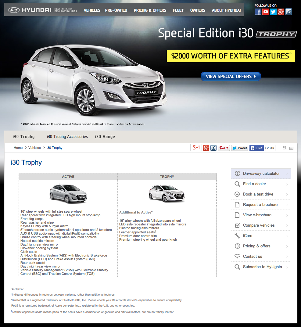 Click the image above to visit the Hyundai i30 Trophy offer page