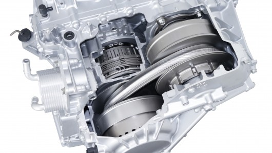 Typical CVT installation - another benefit of which is compactness and comparative simplicity