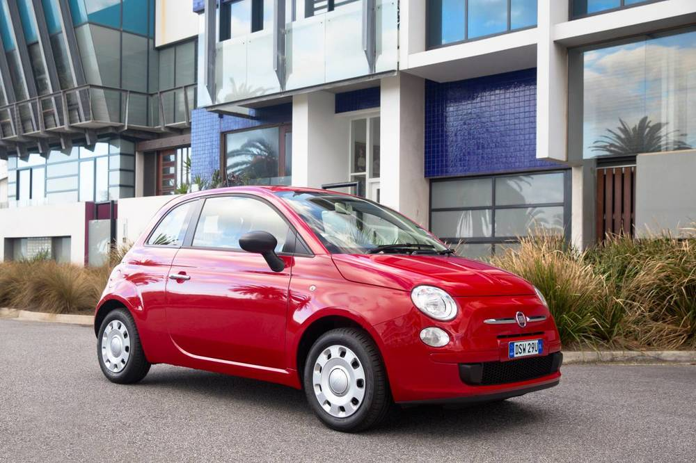 Fiat 500 Pop - probably the coolest car at the $16k (ish) pricepoint. Tonnes of retro flair.