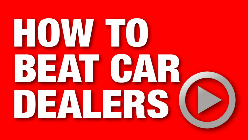 Everything a car dealer does not want you to know