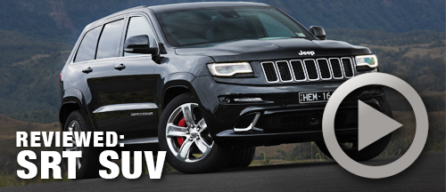Grand Cherokee SRT review & video