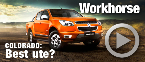Holden Colorado ticks every box