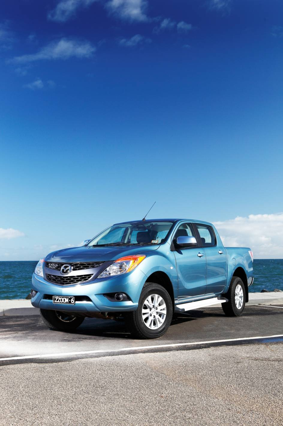 Mazda BT-50: one of the newer (and best) 4WD utes