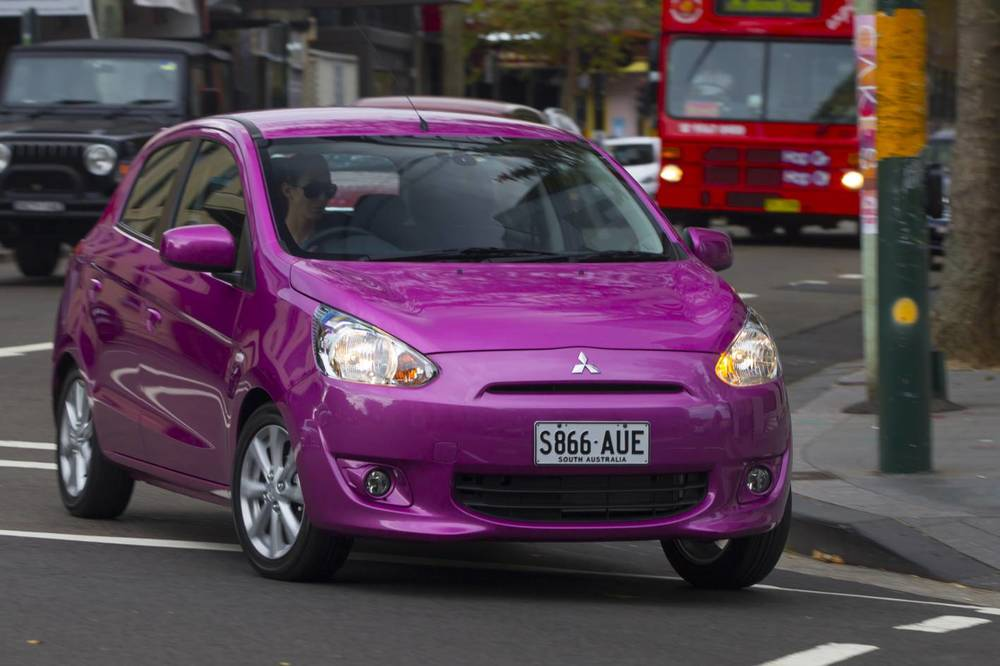 Mitsubishi Mirage, and cars of its ilk: not an example of the car industry's most inspiring work