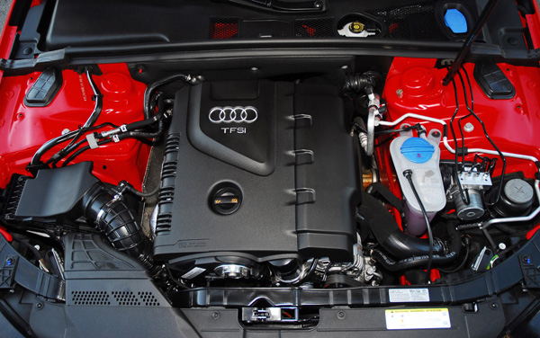 Inadvertently designed to drink both oil and petrol: the new 'normal'. That's Audi's Orwellian explanation...