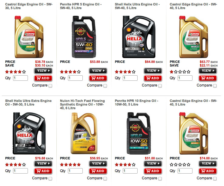 Super Cheap Auto synthetic oil prices