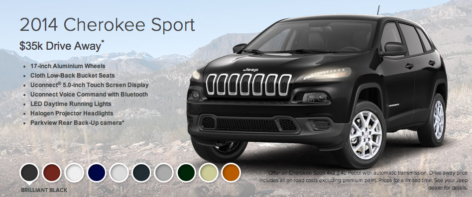 Jeep Cherokee Sport - click to enlarge