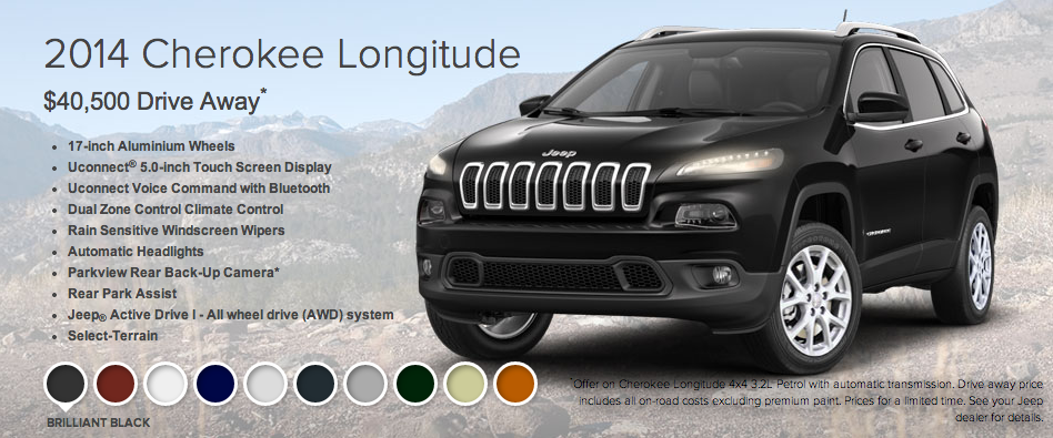 Jeep Cherokee Longitude - click to enlarge