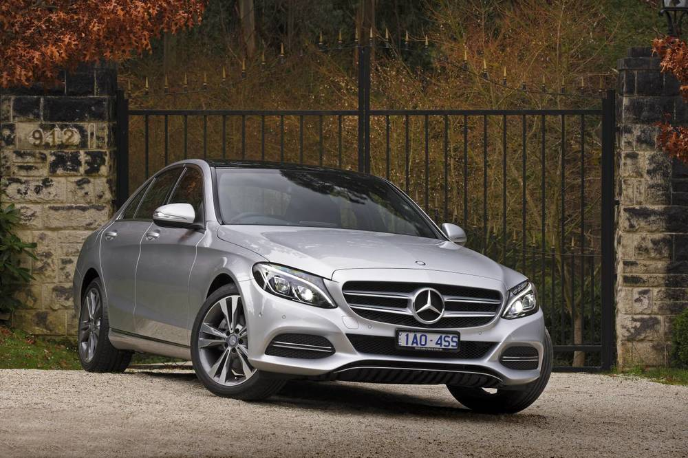 """Woof, woof,"" said the 2014 Mercedes-Benz C 200 to prospective customers..."