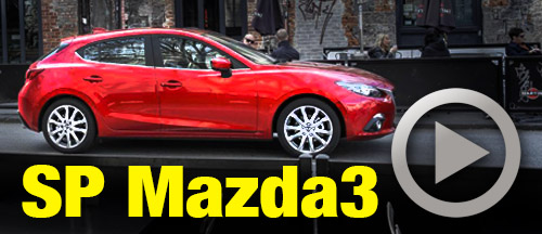 The 2.5L Mazda3 is GR8, mate
