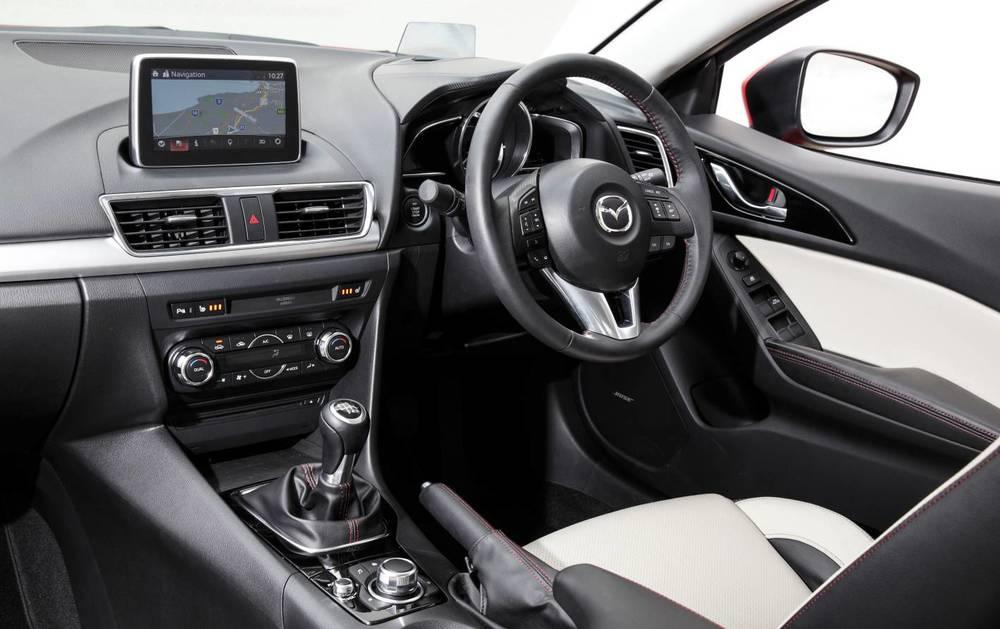 2014 Mazda3 Astina Interior