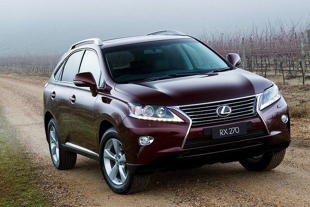 2014 Lexus RX 270 has a four-year warranty and great quality control, but really is out-classed by Santa Fe and Sorento