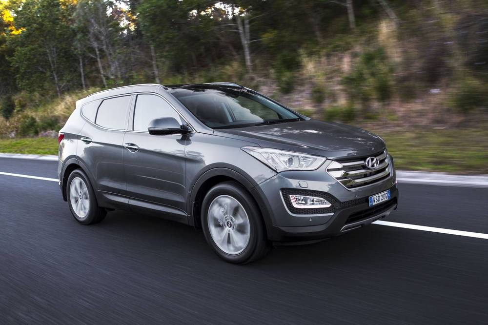 Hyundai Santa Fe - best vehicle in the Hyundai range, and even better now following the recent 2015