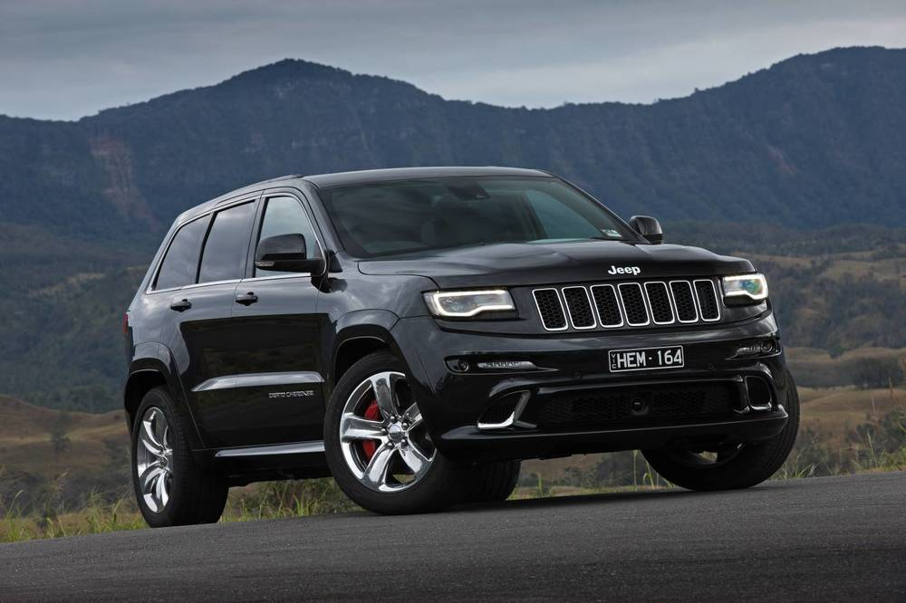 Jeep Grand Cherokee SRT8 - not as grunty as the 3.0-litre diesel, at least not at 2000rpm, where the majority of driving takes place