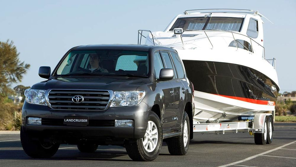 Even a heavy tow platform like Landcruiser is potentially easy to overload