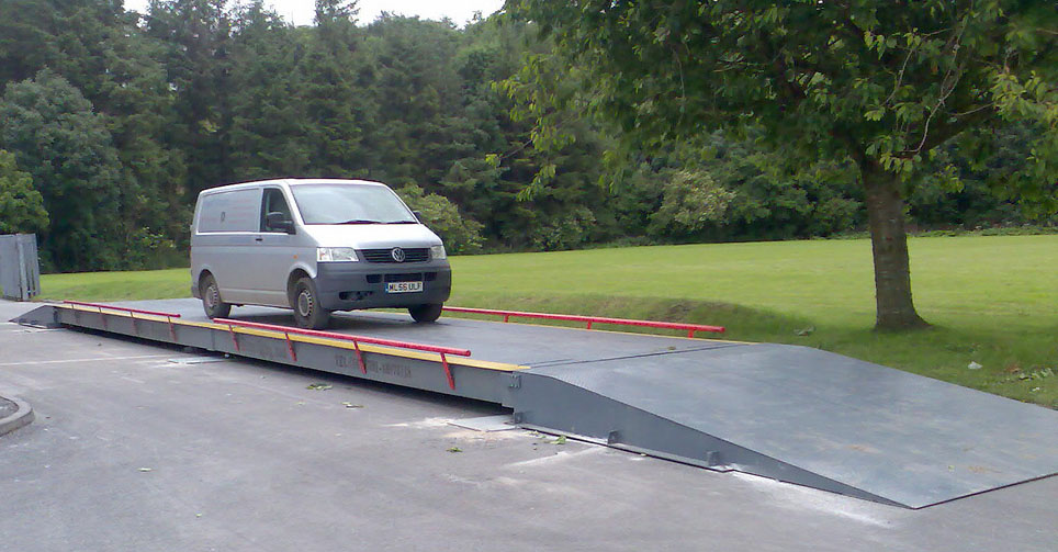 Using a weighbridge is easy - and accurate