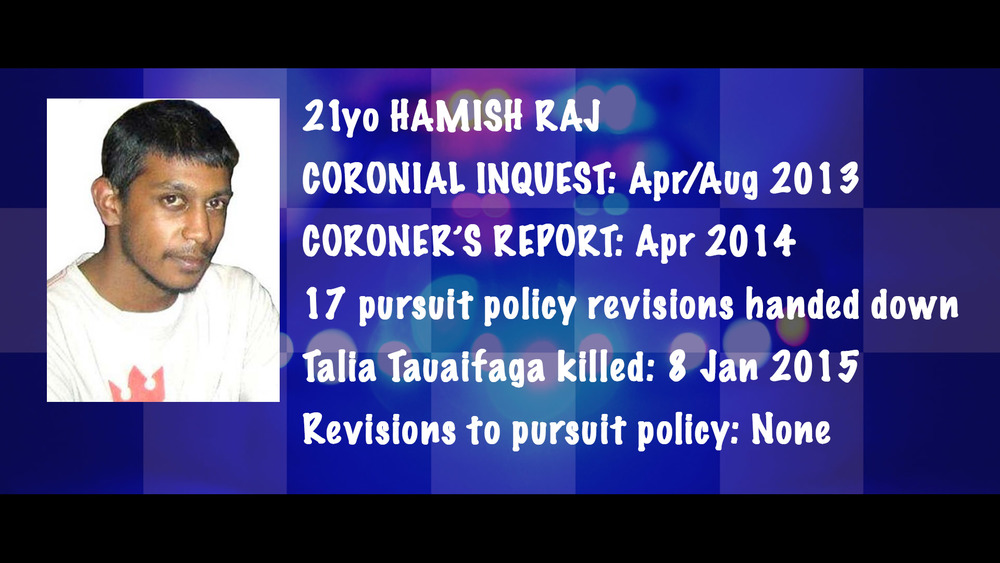 The timeline of inaction following the death of Hamish Raj, which lead to the death of Talia Tauaifaga