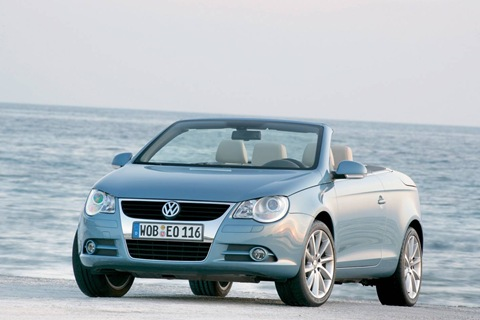 Volkswagen Eos - gorgeous and affordable, but cursed with Volkswagen's traditional unreliability