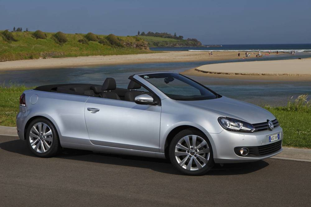 Golf cabrio - another beautiful, affordable convertible you should only admire from a safe distance